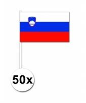 Handvlag slovenie set van 50 trend