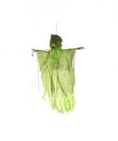 Hangdecoratie geest skelet groen trend