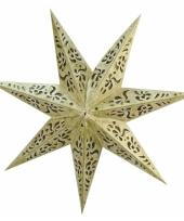 Hangdecoratie kerstster 45 cm trend