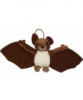 Hangende vleermuis knuffel 31 cm trend