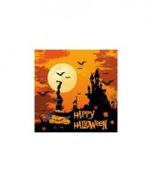 Happy halloween servetjes 20 st trend