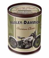 Harley davidson spullen spaarpot trend