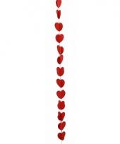 Hartjes slinger rood 190 cm trend
