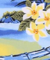Hawaiaanse decoratie stof per meter trend