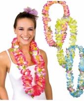 Hawaii krans in verschillende kleuren trend