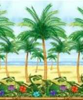 Hawaii of tropische palmboom deco rol trend