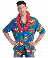 Hawaii overhemd verkleedkleding trend