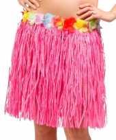 Hawaii rokje roze 45 cm trend