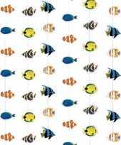 Hawaii thema deurgordijn met vissen trend