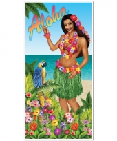 Hawaii thema deurposter trend