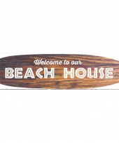 Hawaii thema metalen surfboard decoratie trend
