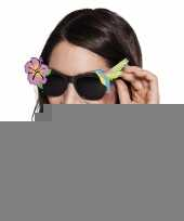 Hawaii zonnebril zwart trend