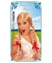 Heidi blonde dames pruik trend