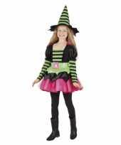 Heksen pakje groen roze voor meisjes trend