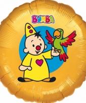 Helium ballon bumba oranje 45 cm trend