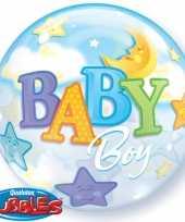 Helium ballon geboorte jongetje trend