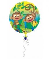 Helium ballon jungle apen 43 cm trend