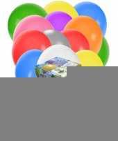 Helium tank met 200 gevarieerde ballonnen trend