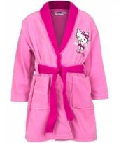 Hello kitty badjas roze voor meisjes trend