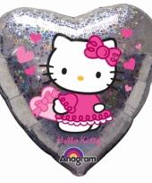 Hello kitty feest folie ballon 45 cm trend