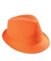 Hip oranje supporters hoedje trend