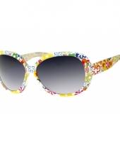 Hippie 60s zonnebril voor dames trend