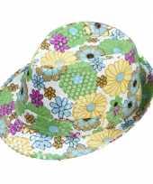 Hippie bloemen hoedje trend