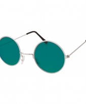 Hippie bril groene glazen trend
