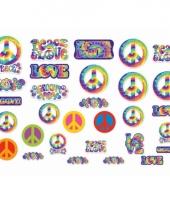 Hippie feest decoratie 30 stuks trend