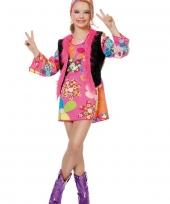 Hippie jurk roze voor meisjes trend