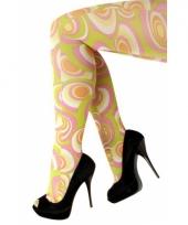 Hippie panty gekleurd trend