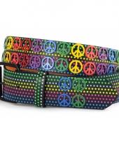 Hippie riem peace en sterren trend