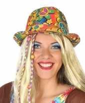 Hippie trilby verkleed hoedje voor volwassenen trend