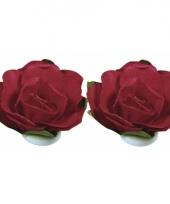 Hobby bloemetjes rood 1 5 cm trend