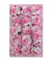 Hobby bloemetjes roze 1 5 cm trend