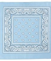 Hobby doek lichtblauw 55x55 cm trend