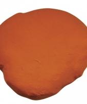 Hobby klei in de kleur oranje trend