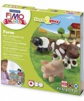 Hobbymateriaal fimo kids pakket boerderij trend