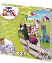 Hobbymateriaal fimo kids pakket pony trend