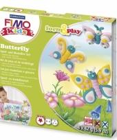 Hobbymateriaal fimo kids pakket vlinder trend