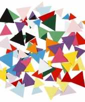 Hobbypapier driehoekjes 180 gram trend
