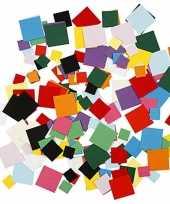 Hobbypapier vierkantjes 180 gram trend
