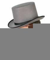 Hoge hoed grijs volwassenen trend