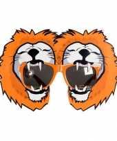 Holland leeuwen bril oranje trend