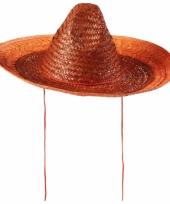 Holland sombrero oranje 48 cm trend