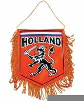 Holland supporters autovlaggen 15 x 10 cm trend