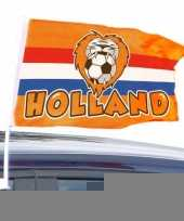 Holland supporters autovlaggen trend