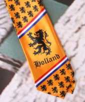 Holland supporters stropdassen trend