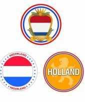 Holland thema bierviltjes 30 stuks trend