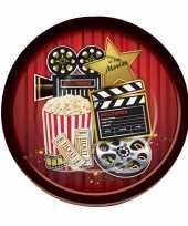 Hollywood feestbordjes 8 stuks trend
